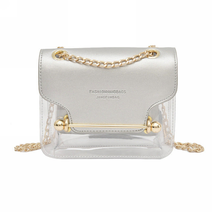 City Vibe Clear Contrast Bag