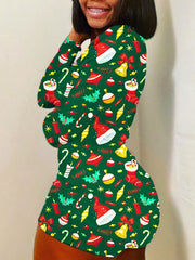 Candy Christmas Romper