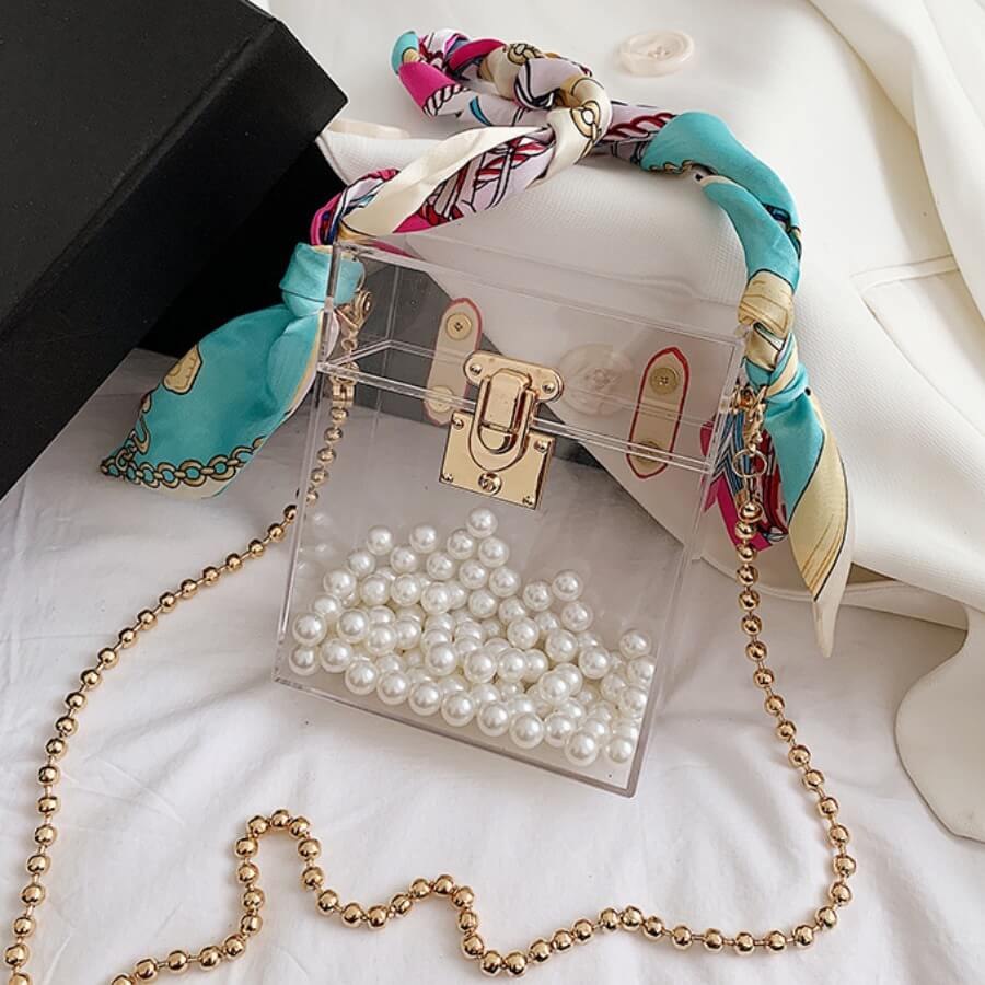 Meesh Pearl Handbag