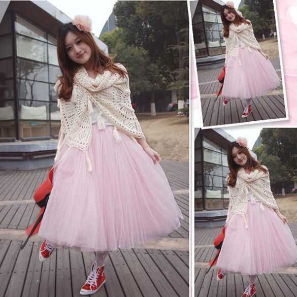 Princess Tu Midi Skirt