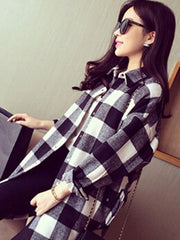 Oli Oversized Flannel Shirt