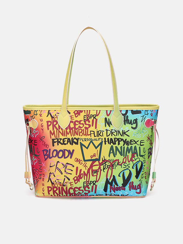 On Top Graffiti Tote Bag