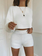 Cozy Shorts Set