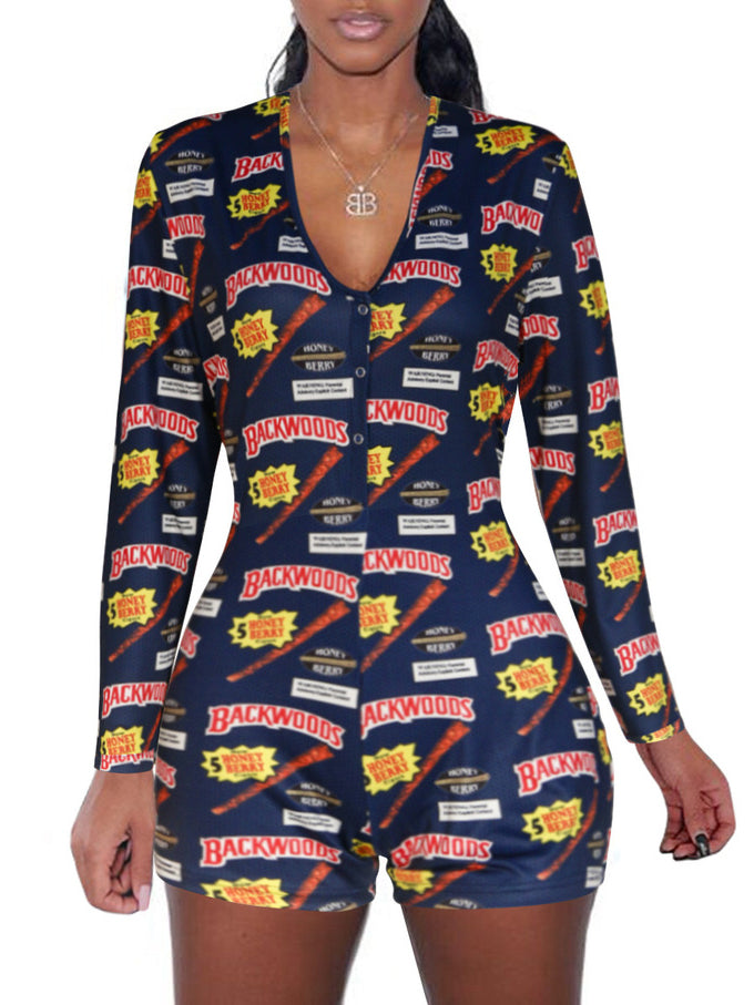 Graphics Lounge Romper