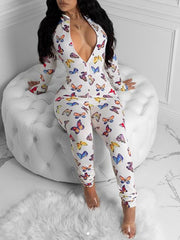 Butterfly Lounge Jumpsuit