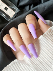 Matte Lilac Press on Nails