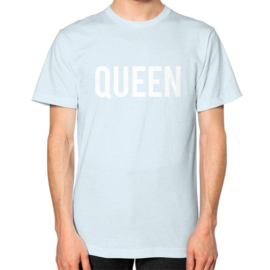 Queen Block Tee Light blue - Outfit Made