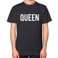 Queen Block Tee Tri-Blend Black - Outfit Made