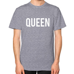 Queen Block Tee Tri-Blend Grey - Outfit Made