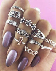 Gypsies Gem Ring Set