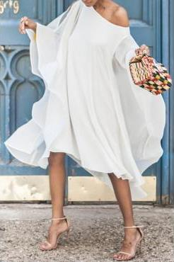 Queenin Flow Shirt Dress