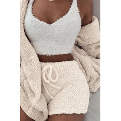 The Cute Fluffy 3 Piece Set