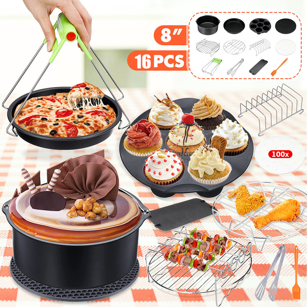Air Fryer Accessories Set for Cooking and Baking 12PCS