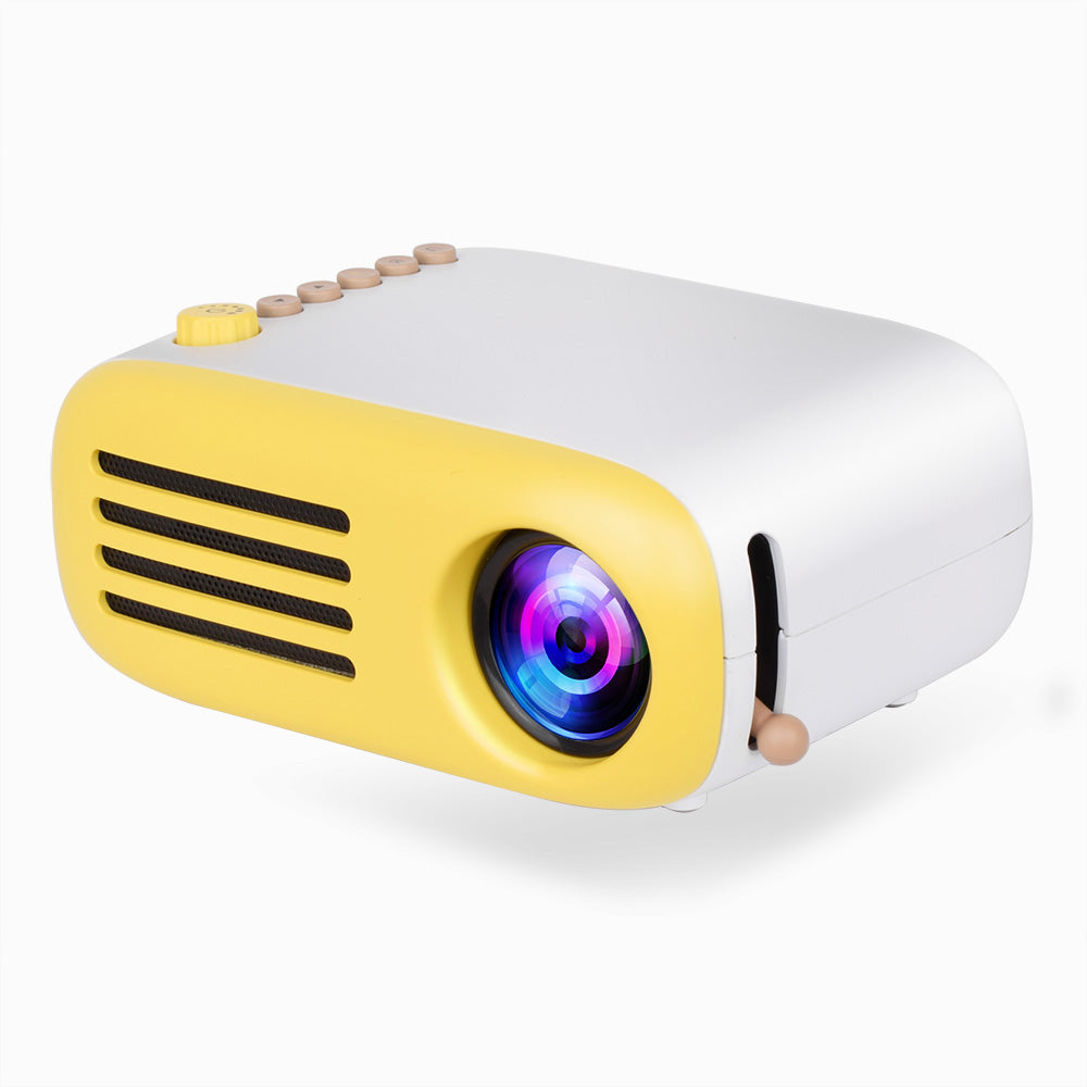 AAO YG200 Mini LED Pocket Projector USB HDMI Support 1080P Home Beamer Kids Gift Video Portable Projector