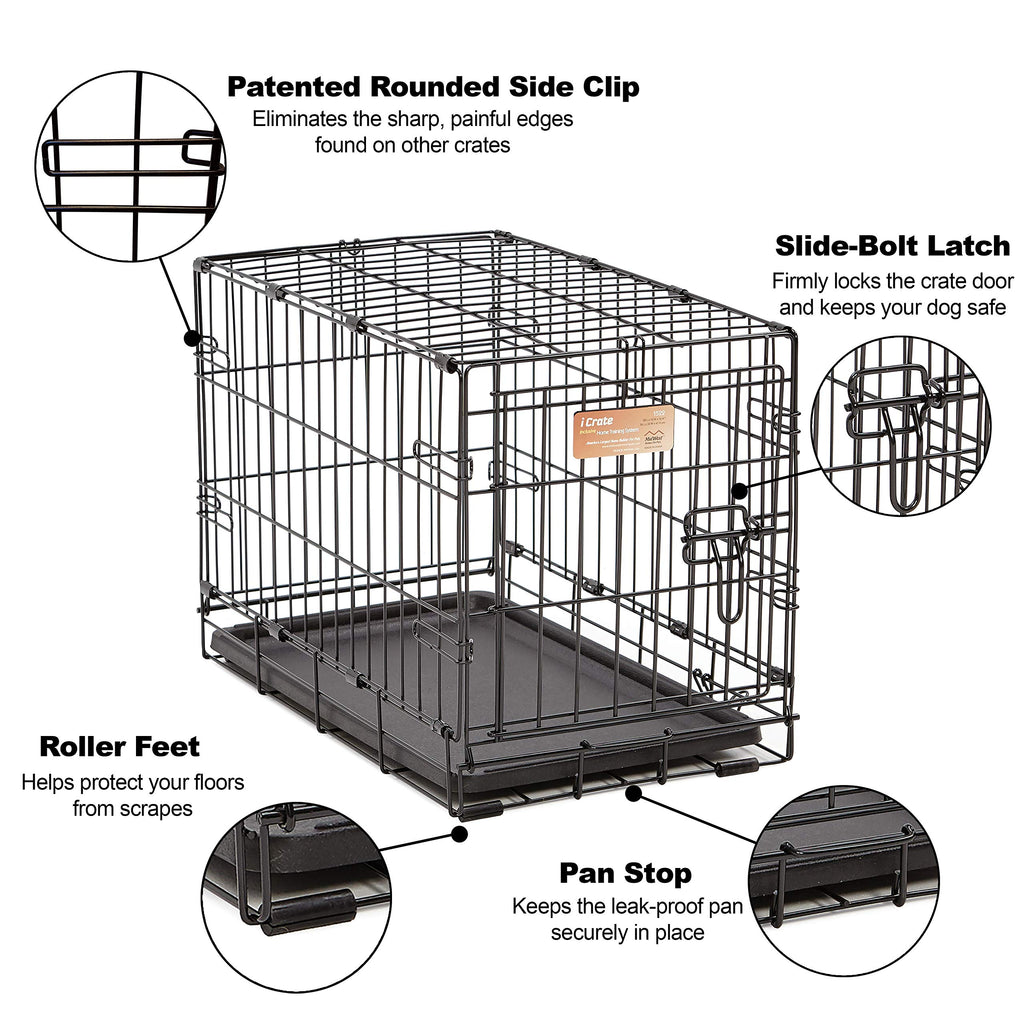 I-crate Dog pen - Single Door - Dog cage  dog kennel
