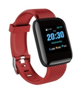 Blood Pressure smart watch shows BP Steps Calories sleep messaging alarms sports mode