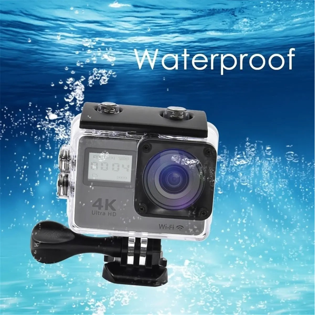 Waterproof Sport Camera DVR - Action 4K Mi ni DV Video Helmet DVR Camera 12MP