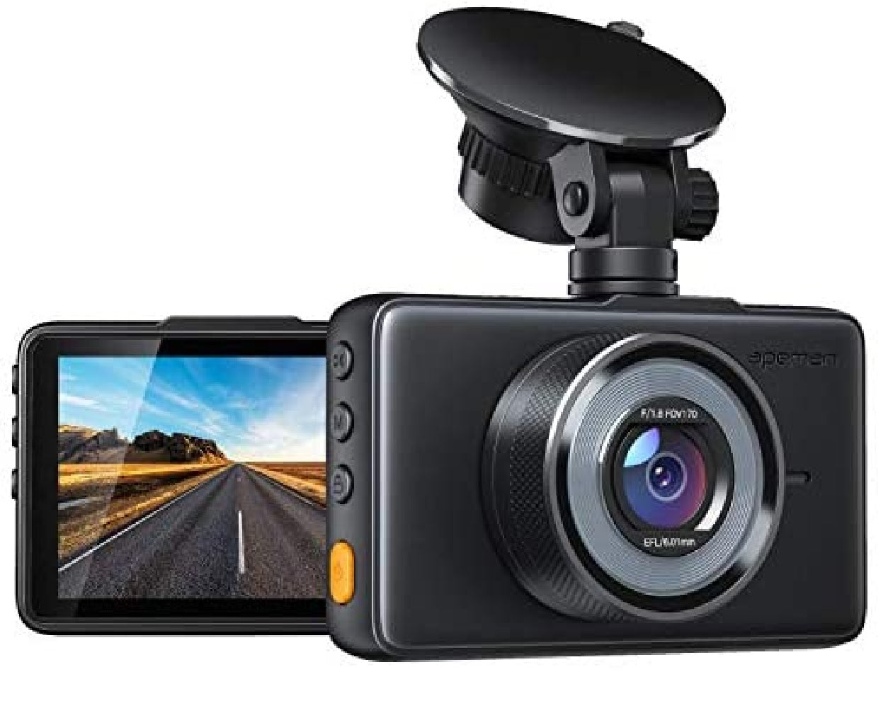 Camera Dash Cam Dual Lens 4 Inch MONITOR HD 1080P  Night Vision Camera Loop Recording 170 Degree Car DVR Video DashCam Front Rear Recorder