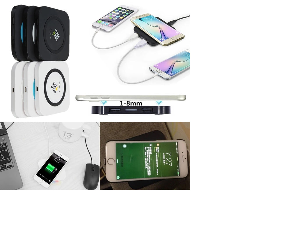 Wireless Charger Charging Pad Transmitter For iPhone Samsung Note 5 Nokia - QI