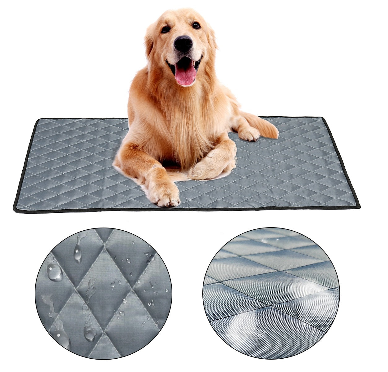 Dog Cooling Mat Non-Toxic Cool Pad  Cooling Pet Bed for Summer Dog Cat Puppy