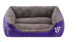 EZ-SLEEP™  DOG BED Cozy Fleece Pet Bed orthopedic