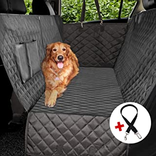 Rear Seat Dog Cover Protector- hammock also covers back of front seats waterproof
