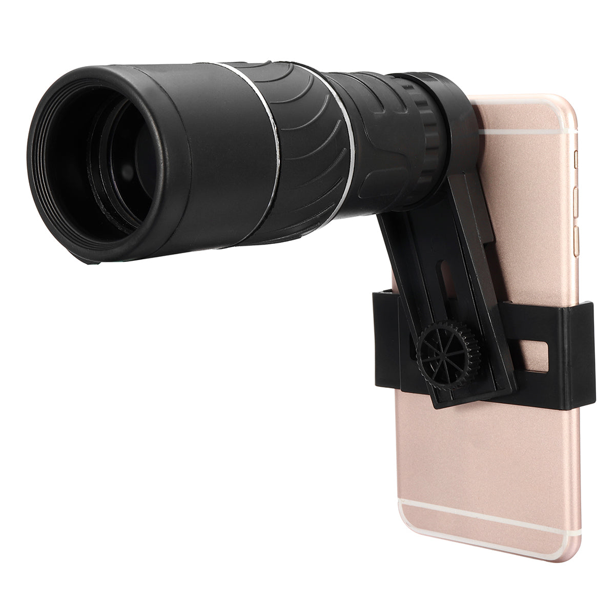 Bakeey 16x52 Dual Focus HD Monocular Telescope Camera +Phone Clip+Tripod for Smartphones