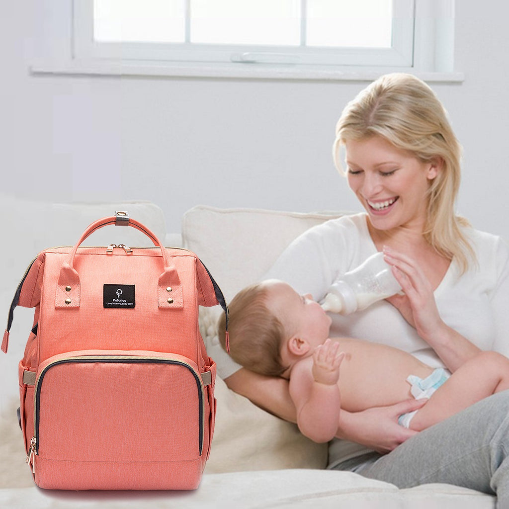 Oxford mommy Diaper Bag Backpack baby diaper bag waterproof