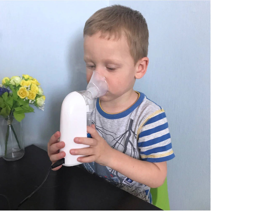 Home Ultrasonic Nebulizer Compact And Portable Inhalers Nebulizer Mist Discharge Asthma Inhaler Mini Automizer Adults Children