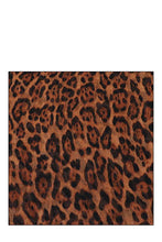 Load image into Gallery viewer, Chiffon Soft Leopard Infinity Scarf