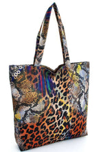 Load image into Gallery viewer, Animal Print Tote Bag