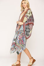 Load image into Gallery viewer, Vintage Printed Kimono
