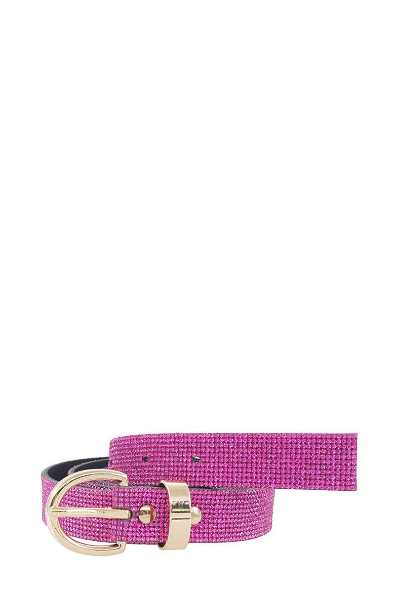 Fashion Leopard Rhinestone Belt