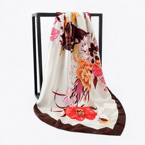Women Silk Scarf