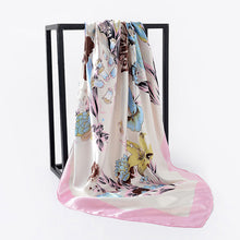 Load image into Gallery viewer, Women Silk Scarf