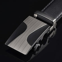 Load image into Gallery viewer, Men's Genuine Leather Automatic Buckle Strap Belt