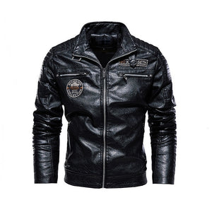 Men's Natural Real Leather Jacket
