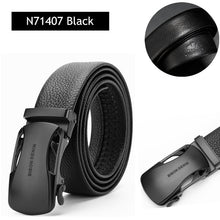 Load image into Gallery viewer, BISON DENIM Men's Automatic Buckle Leather Belts