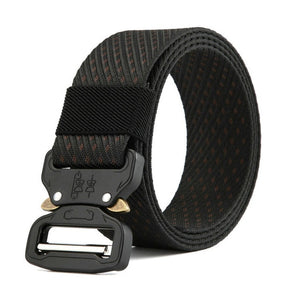 New Men's Nylon Army Combat Belt