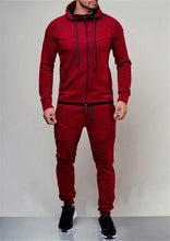 Load image into Gallery viewer, Autumn Men's 2 piece Running tracksuit