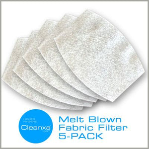 5-Pack of Face Mask Filter Inserts