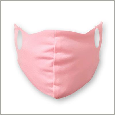 Solid Pink Mask