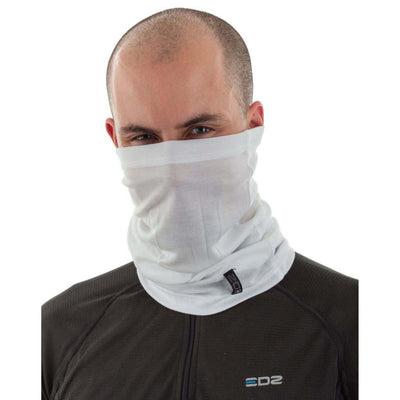EDZ All Climate Multi Tube Neck Warmer White