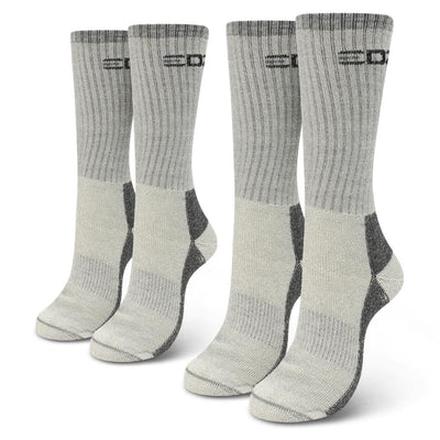 EDZ All Climate Merino Boot Socks Grey 2 Pack