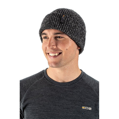 EDZ Tarn Wool Beanie Hat Grey