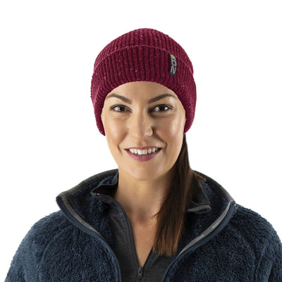 EDZ Tarn Wool Beanie Hat Red