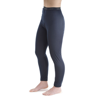 EDZ Womens All Season Thermal Baselayer Leggings Navy