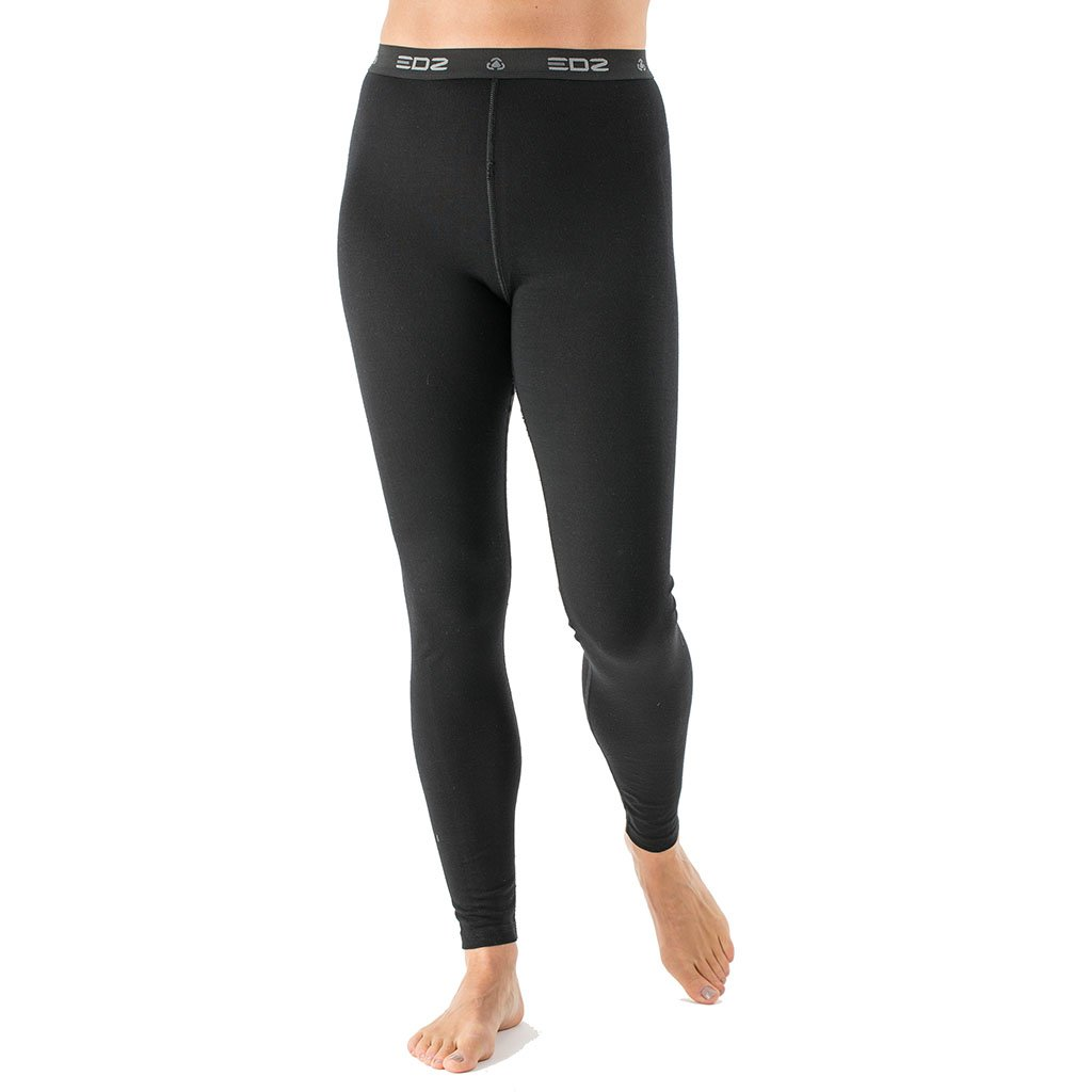 ecd4d7b29c06f EDZ 200gsm Merino Leggings Womens Black