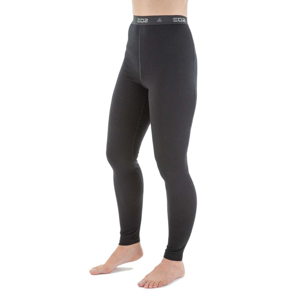 cc9ed043b471d EDZ 200gsm Merino Leggings Womens Black. The EDZ merino base layer ...