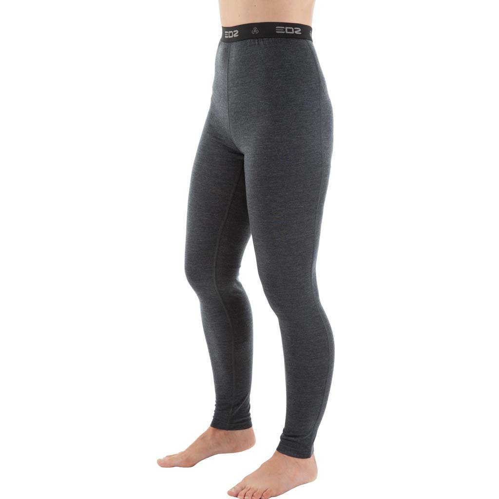 7f45b6a1d19f9 EDZ Merino Wool Base Layer Leggings Womens Graphite